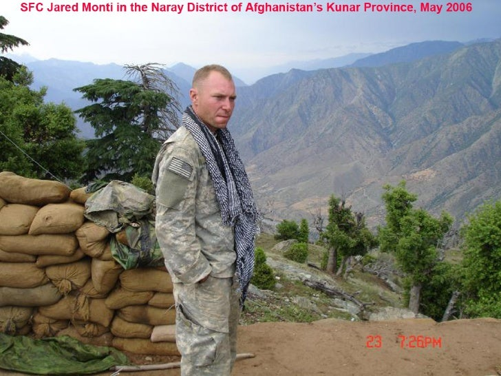 SFC Jared Monti