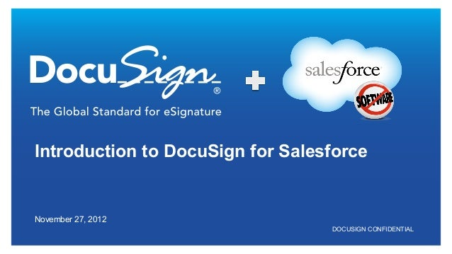 An Introduction to DocuSign for Salesforce
