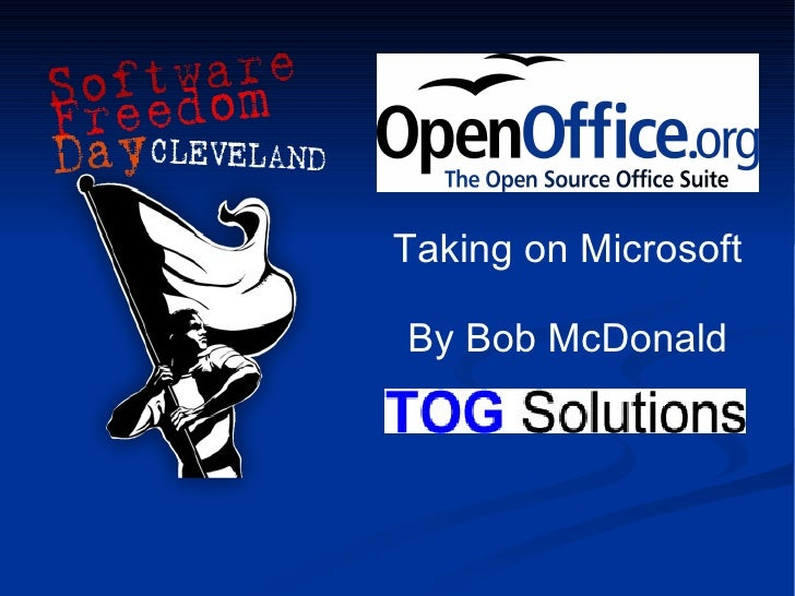 Software Freedom Day Cleveland Presentation