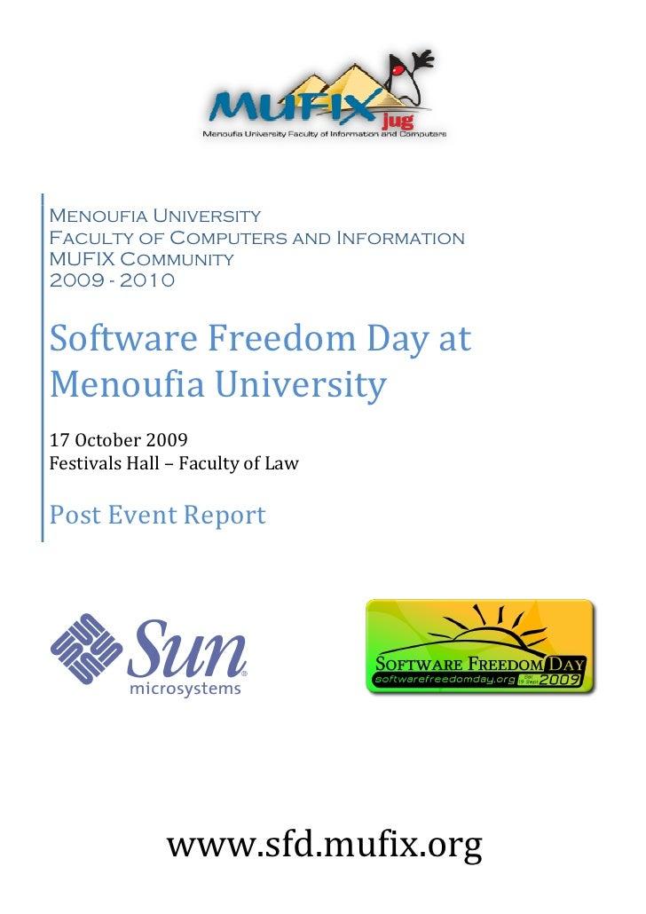 Sfd Post Event Report
