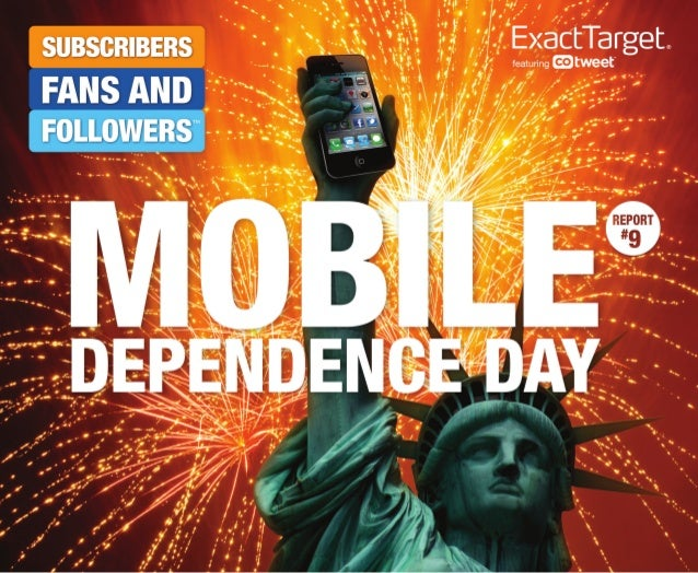 Mobile Marketing Dependence Day