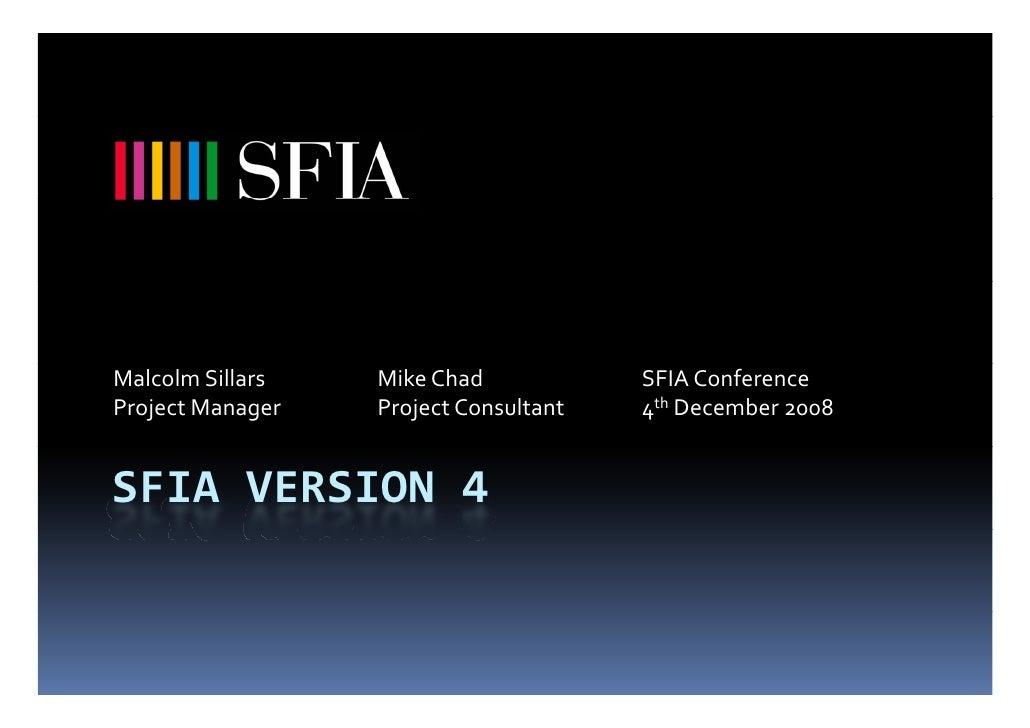 SFIA Version 4