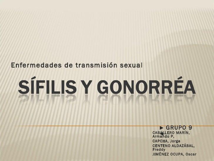 Enfermedades de transmisión sexual CABALLERO MARÍN, Armando P. CAPCHA, Jorge CENTENO ALDAZÁBAL, Freddy JIMÉNEZ OCUPA, Osca...