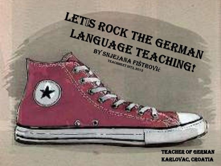 Teacher of GermanKarlovac, Croatia