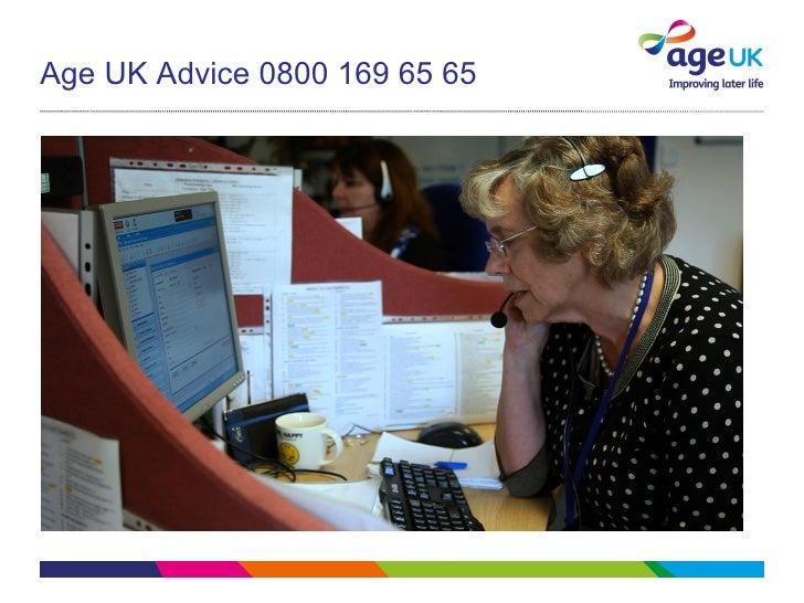 Age UK Advice 0800 169 65 65
