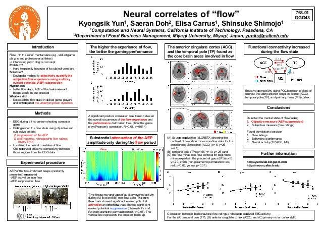 [SfN 2013] Neural correlates of flow