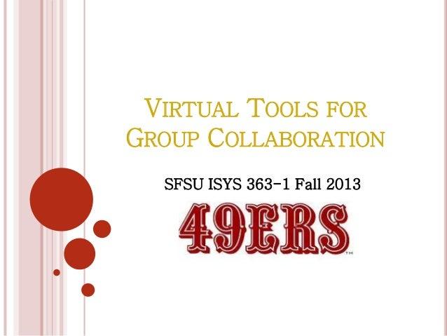 SFSU ISYS 363-1 Fall 2013-Group 49ers