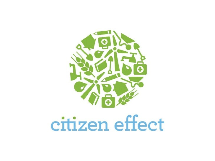 The Citizen Effect In Action