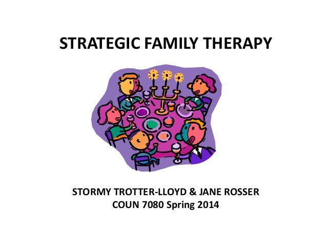 Strategic Family Therapy