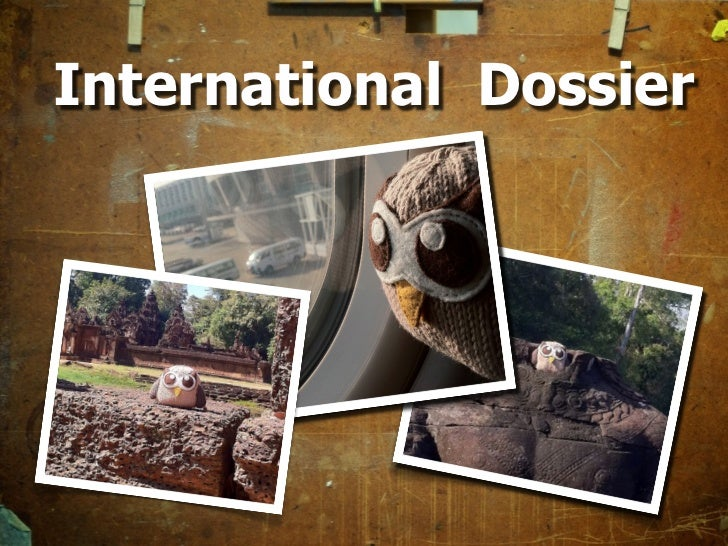 International Outreach Dossier
