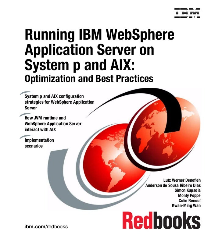 Redbook: Running IBM WebSphere Application Server on System p and AIX: Optimization and Best Practices
