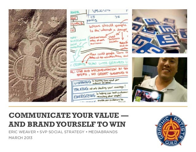 Communicate Your Value - and Brand Yourself to Win (Designer Edition)