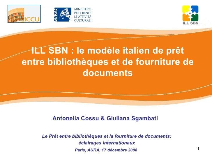 ILL-SBN i Aura 17decembre2008