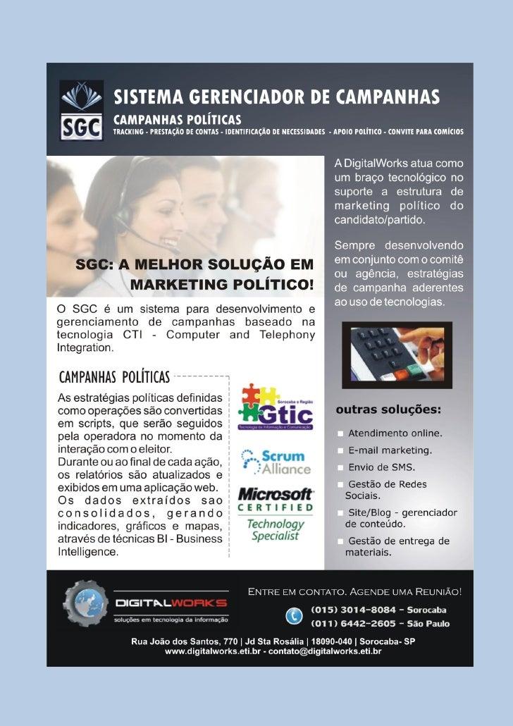 SGC - Sistema Gerenciador de Campanhas