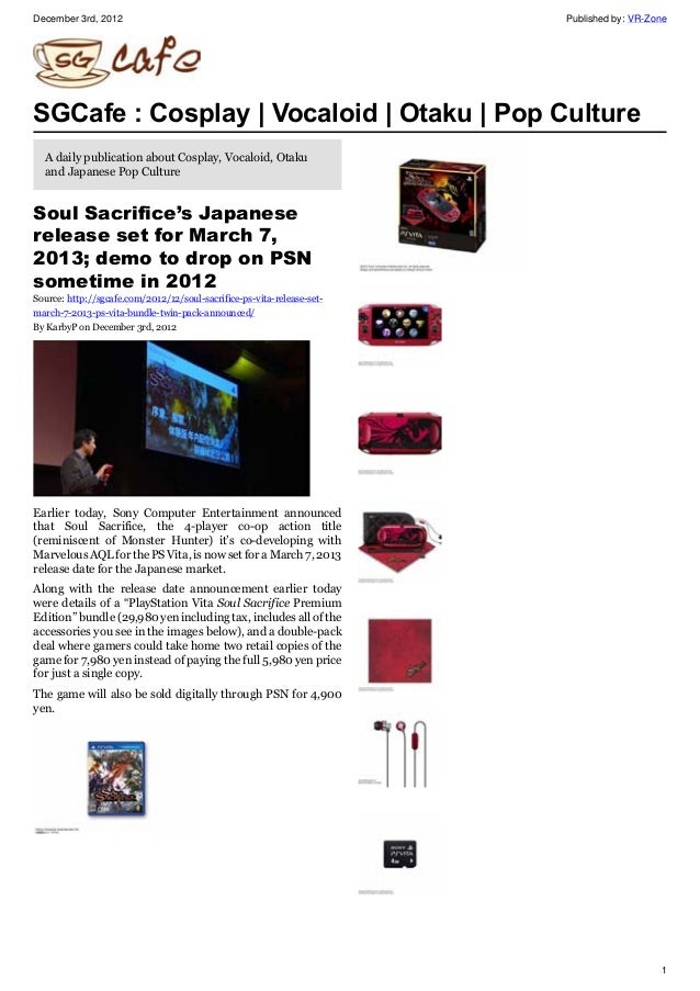 SGcafe Anime News For Otaku Dec 2012 Issue