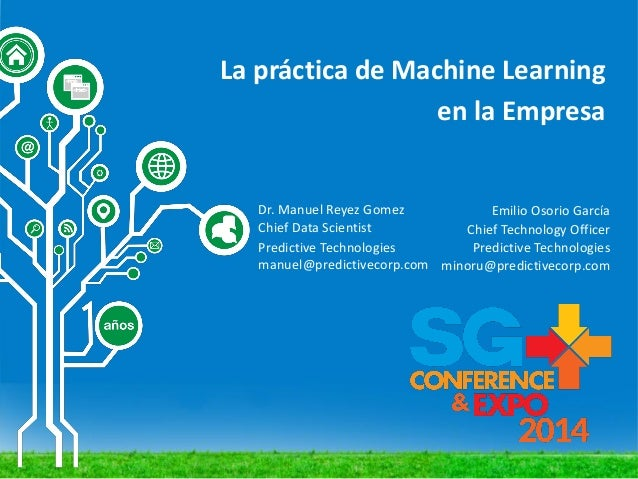 La práctica de Machine Learning en la empresa