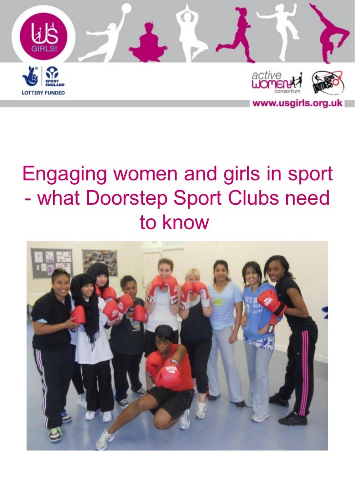 Engaging women and girls in sport - What a Doorstep Sport Club needs to know