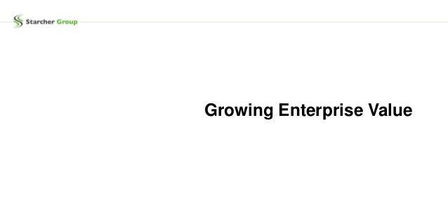 Growing Enterprise Value
