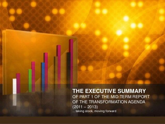 Sgf   the executive summary