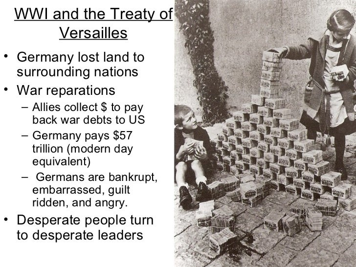 wwi and the treaty of versailles history essay Read this american history essay and over 88,000 other research documents treaty of versailles at eleven o' clock on the morning of november 11, 1918, the fighting ceased on the western.