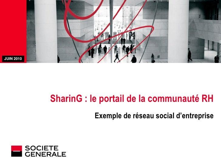 Entreprise 2.0 : le réseau social interne de la RH à la Société Générale