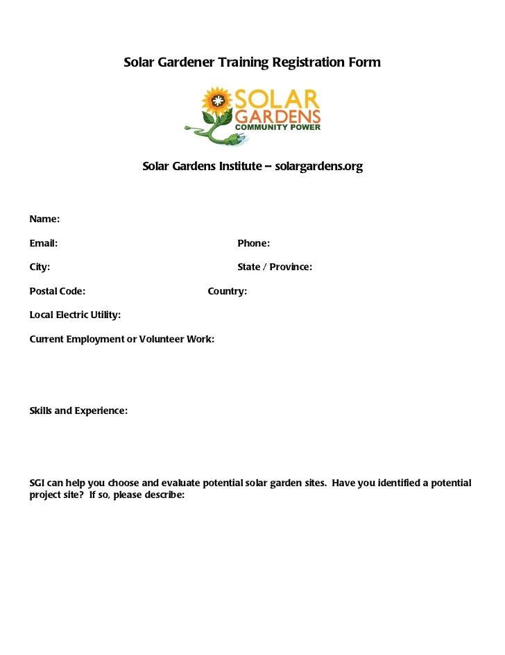 Sgi training registration