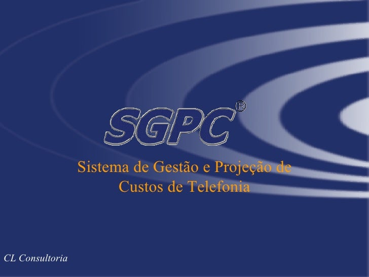SGPC Apresentacao Web Portal