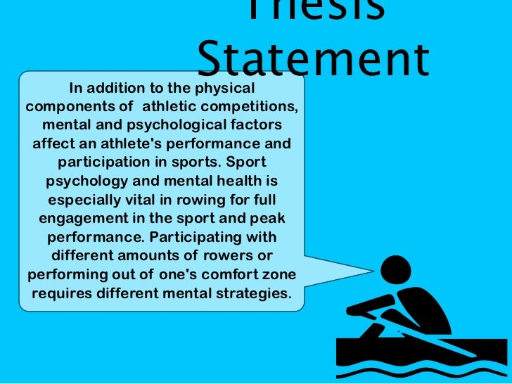 "sports psychology dissertation Sports psychology write a 2-4 page essay using mla style on the topic ""how will receiving your college degree help improve your financial future and how can."
