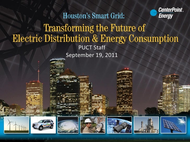 Houston's Smart Grid: Transforming the Future of Electric Distribution & Energy Consumption