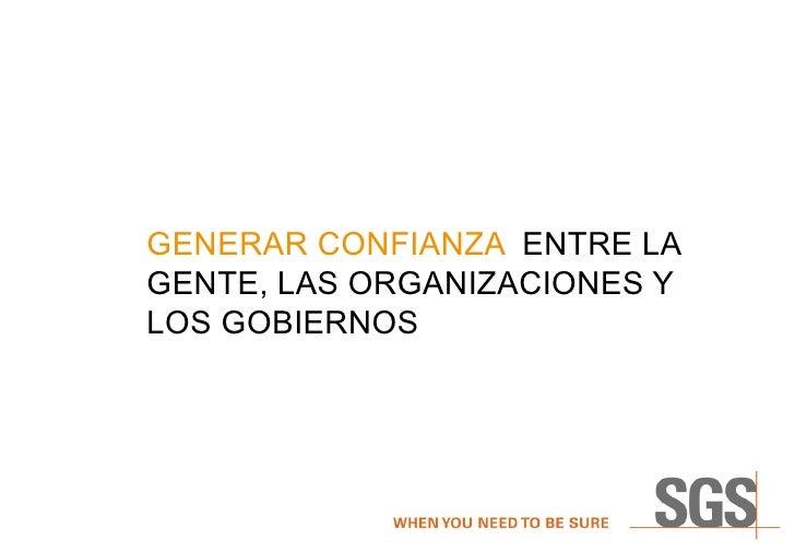 Sgs Group Present Spanish Mar  2009 Internal Version