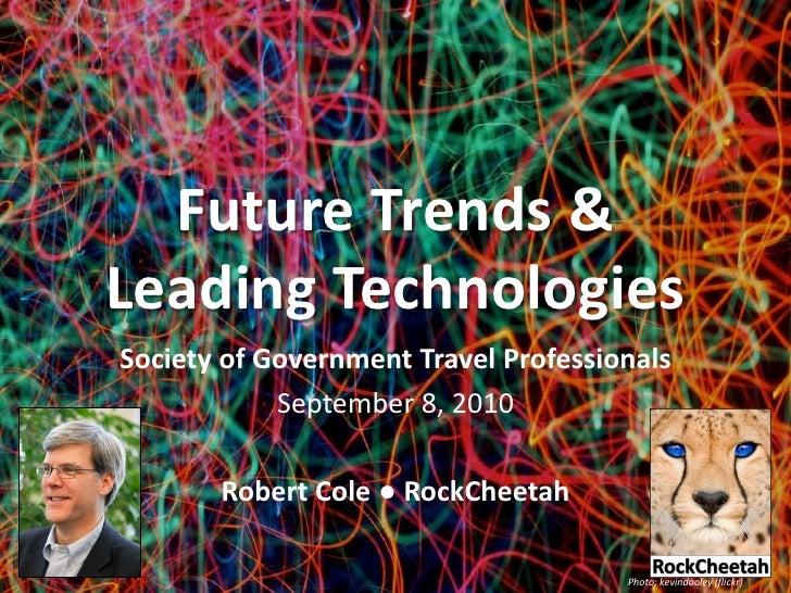 SGTP EdCon'10 Keynote: Future Trends & Leading Technologies
