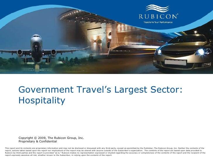 Sgtp Presentation Rubicon Government Hospitality