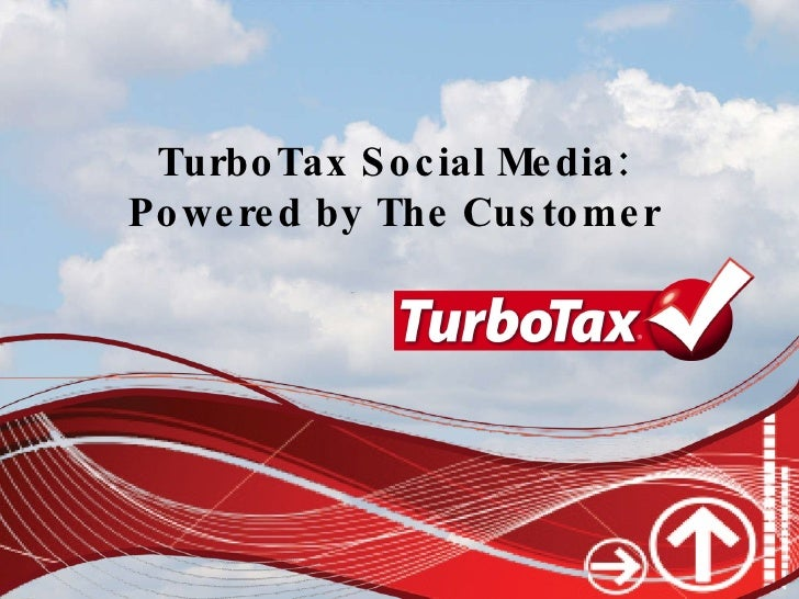 Turbo Tax & Social Media