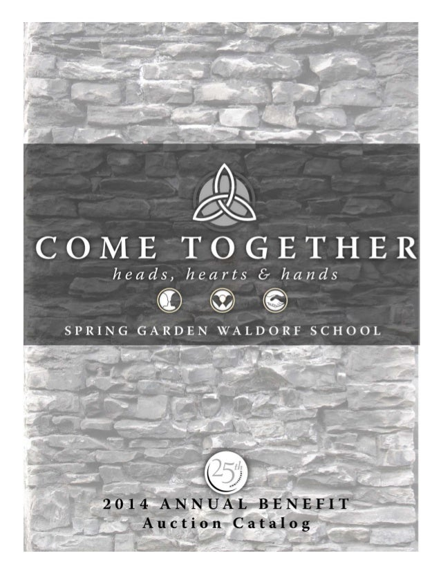 Spring Garden Waldorf 2014 Auction Catalog