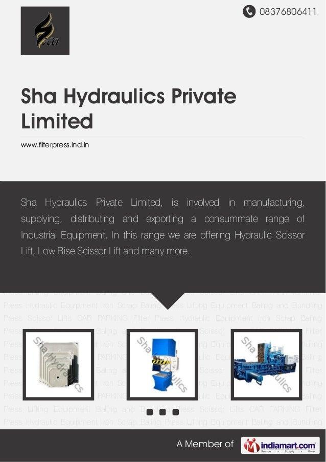 08376806411A Member ofSha Hydraulics PrivateLimitedwww.filterpress.ind.inFilter Press Hydraulic Equipment Iron Scrap Balin...