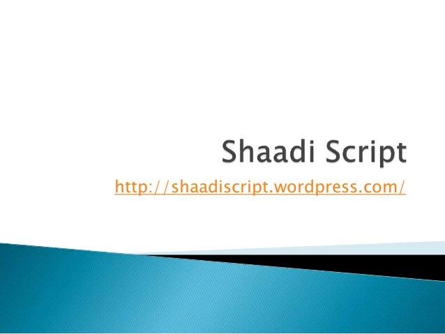 Shaadi script, Shaadi clone