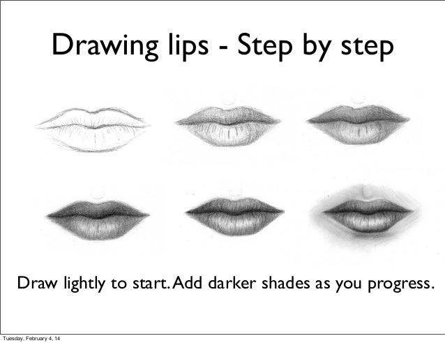 step by step drawing techniques