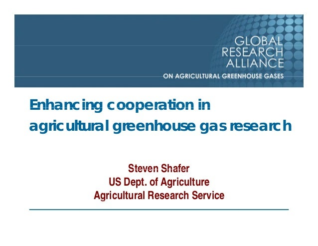 Global Research Alliance for Agricultural Greenhouse Gasses