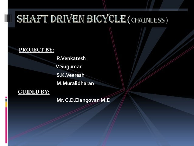 PROJECT BY:              R.Venkatesh              V.Sugumar              S.K.Veeresh              M.MuralidharanGUIDED BY:...