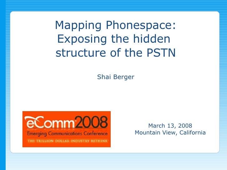 Shai Berger's presentation at eComm 2008