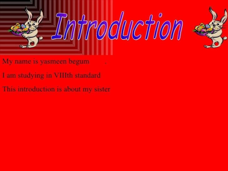 Yasmeen's Digital Story