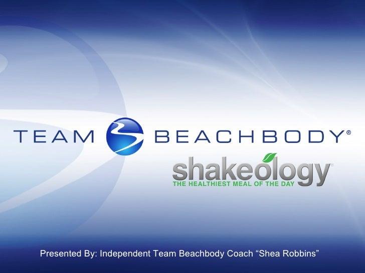 Shakeology Presentation