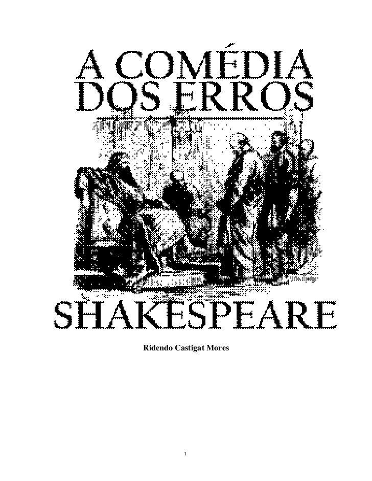 Shakespeare a-comedia-dos-erros