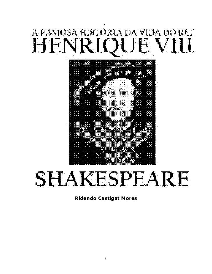 Shakespeare henrique-viii