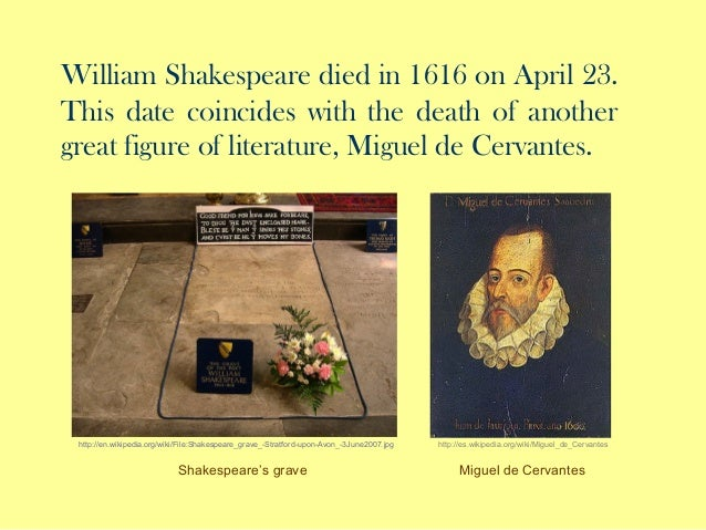 William Shakespeare death date
