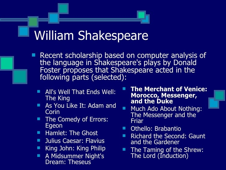 "an analysis of the appearence of ghosts in shakespearean plays - comparative analysis of the ghost in two hamlet movies the play ""hamlet, prince of denmark"", by william shakespeare being of such a complicated variety of themes, contains many different story lines as well as being very extensive in nature makes it quite a challenge to be produced and acted."