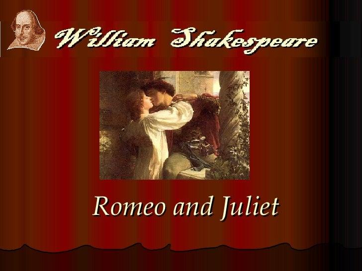 Shakes Romeo Juliet