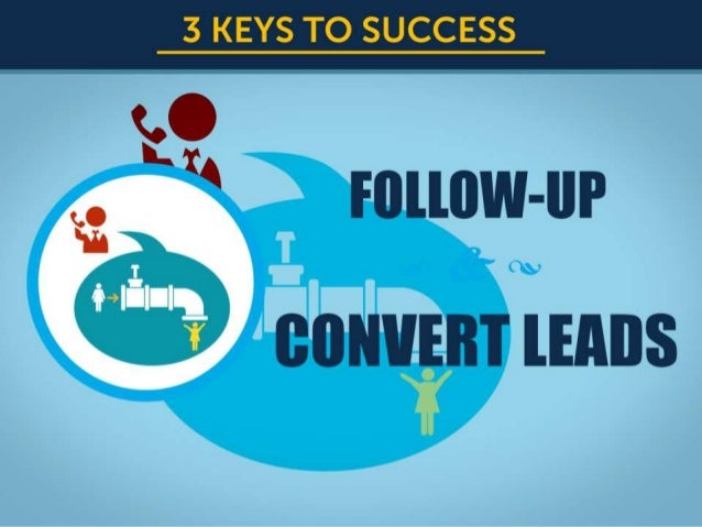 Shaklee Training -  Step 2. How to follow-up & convert leads