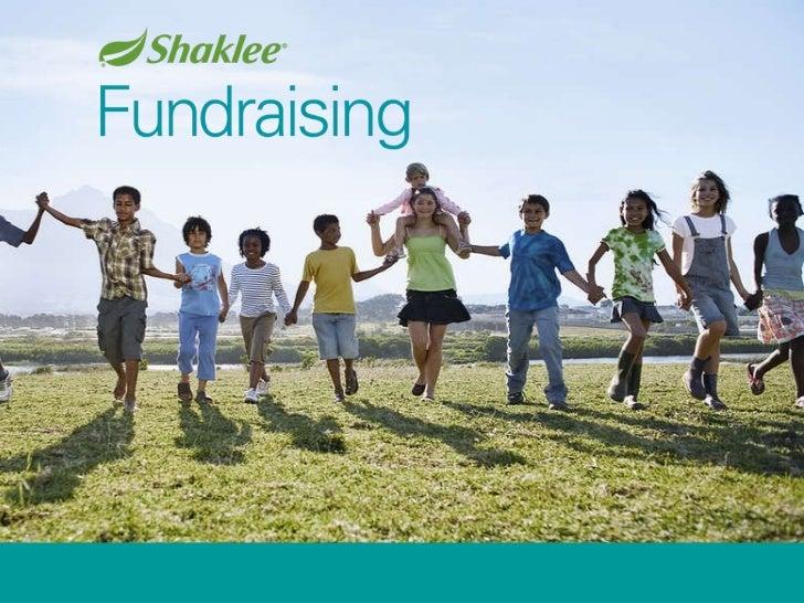 Shaklee fundraising