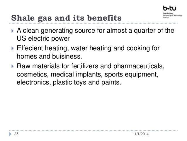 Shale gas in usa presentation final